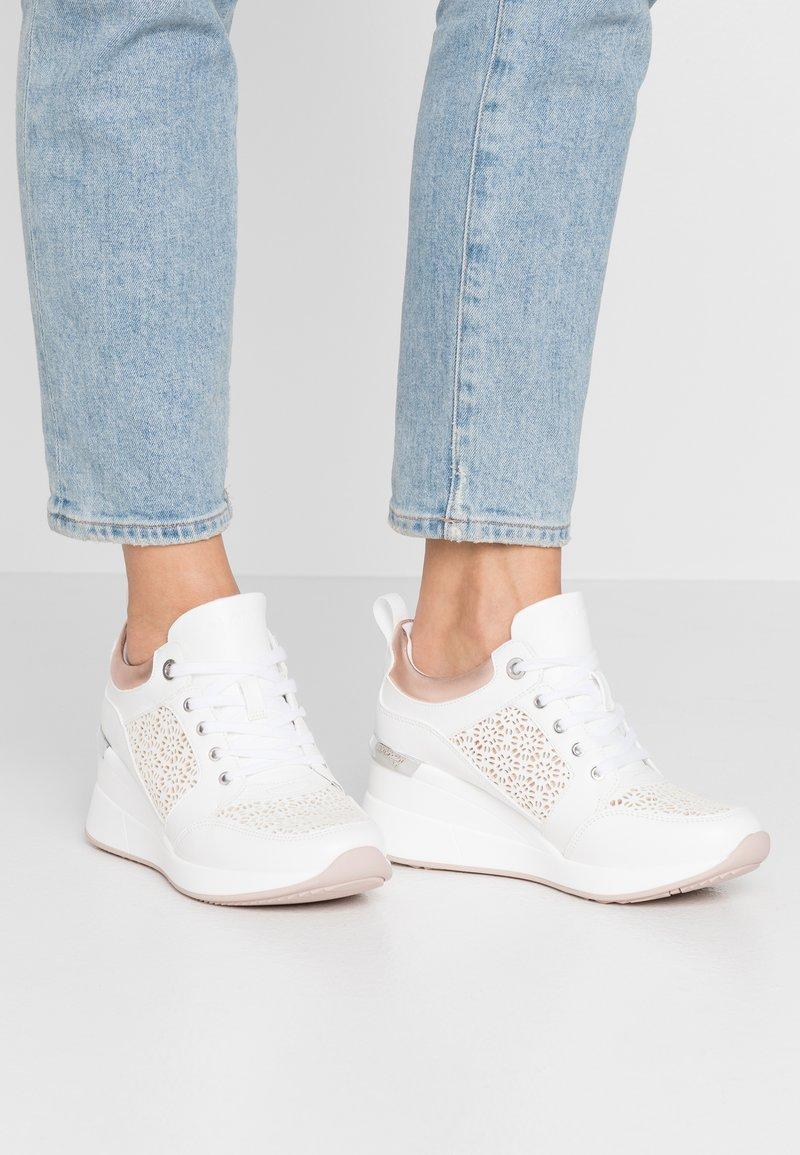 ALDO - COLUBER - Baskets basses - white