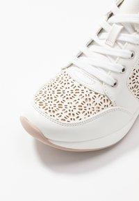 ALDO - COLUBER - Baskets basses - white - 2