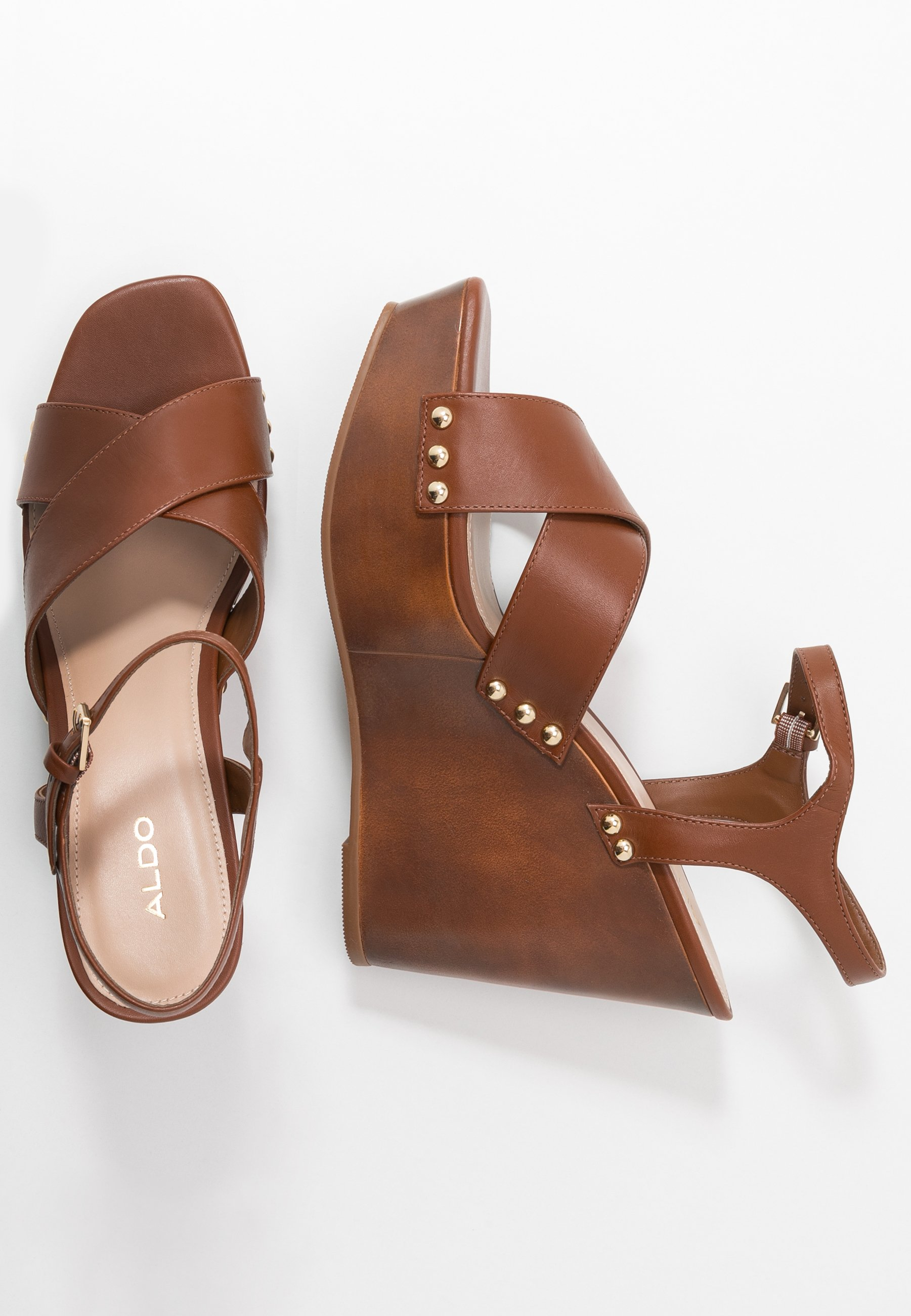 Aldo Desbet - Sandaletter Medium Brown