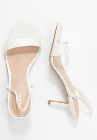 ALDO - GIREDIA - Sandaler - white - 3