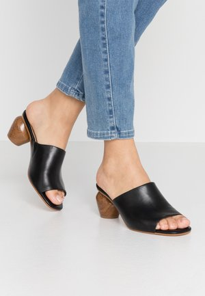 JAMELLE - Heeled mules - black