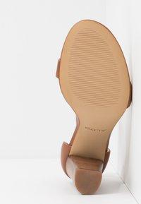 ALDO - JERAYCLYAD - High Heel Sandalette - cognac - 6