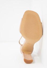ALDO - JEREMY - Sandaler med høye hæler - bone - 6