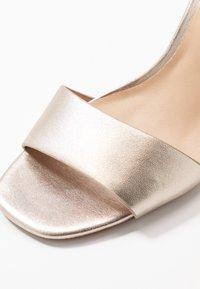 ALDO - JEREMY - Sandaler med høye hæler - light silver - 5
