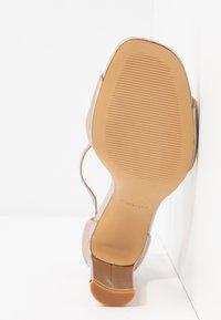 ALDO - JEREMY - Sandaler med høye hæler - light silver - 4