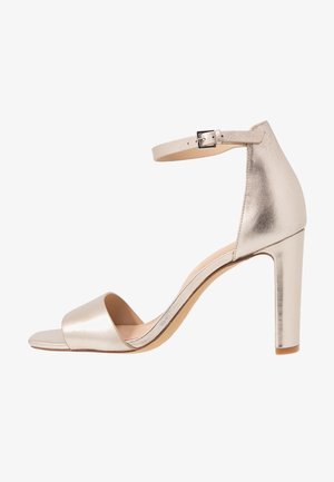 JEREMY - Sandaler med høye hæler - light silver
