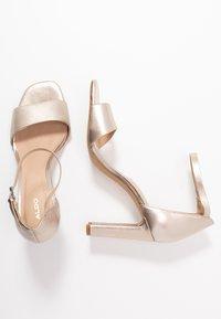 ALDO - JEREMY - Sandaler med høye hæler - light silver - 1
