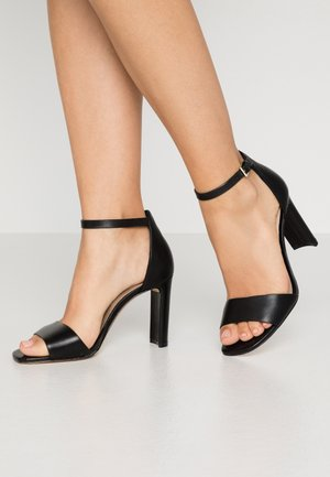JEREMY - High heeled sandals - black