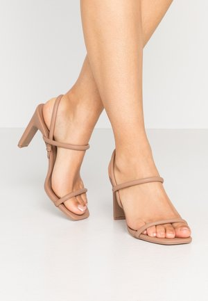 KARLA - Sandaletter - bone