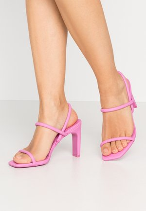 KARLA - High heeled sandals - light pink