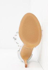 ALDO - LINEWALL - Sandály na vysokém podpatku - other white - 6