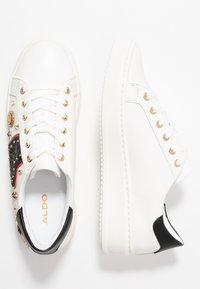 ALDO - POLYGONIA - Sneaker low - white - 3