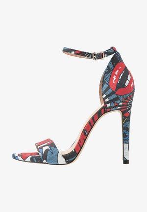 THINDRA - Sandály na vysokém podpatku - multicolor