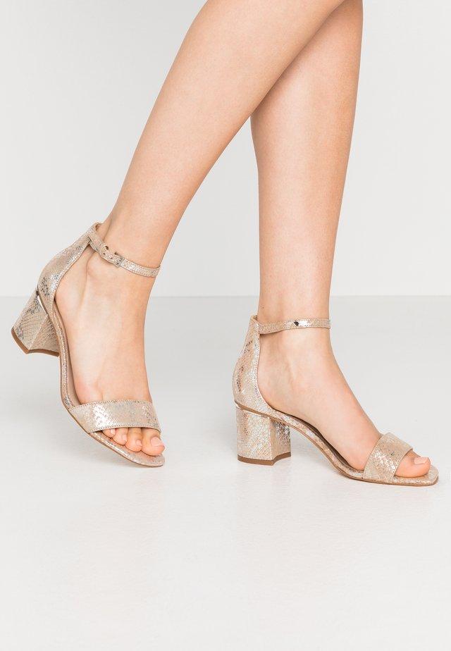 VALENTINA - Sandales - light silver