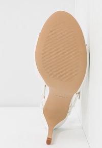 ALDO - ZAOSSA - High heeled sandals - white - 4