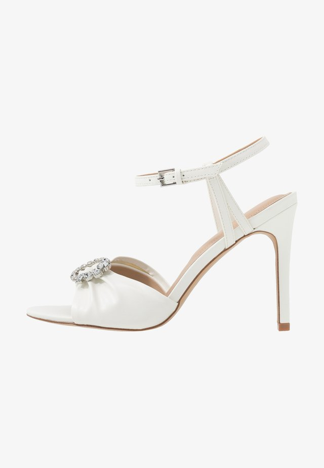 ZAOSSA - Sandalen met hoge hak - white