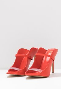 ALDO - LISADELL - Heeled mules - red - 4