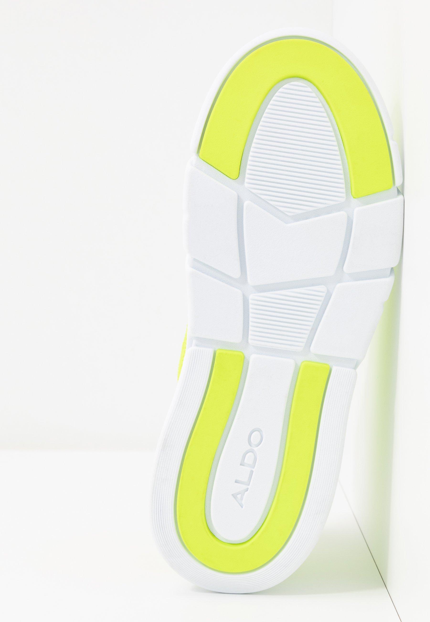 ALDO AMBLA - Baskets basses - bright green