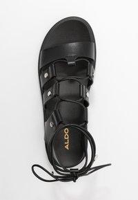 ALDO - DASDEZ - Platform sandals - black - 3