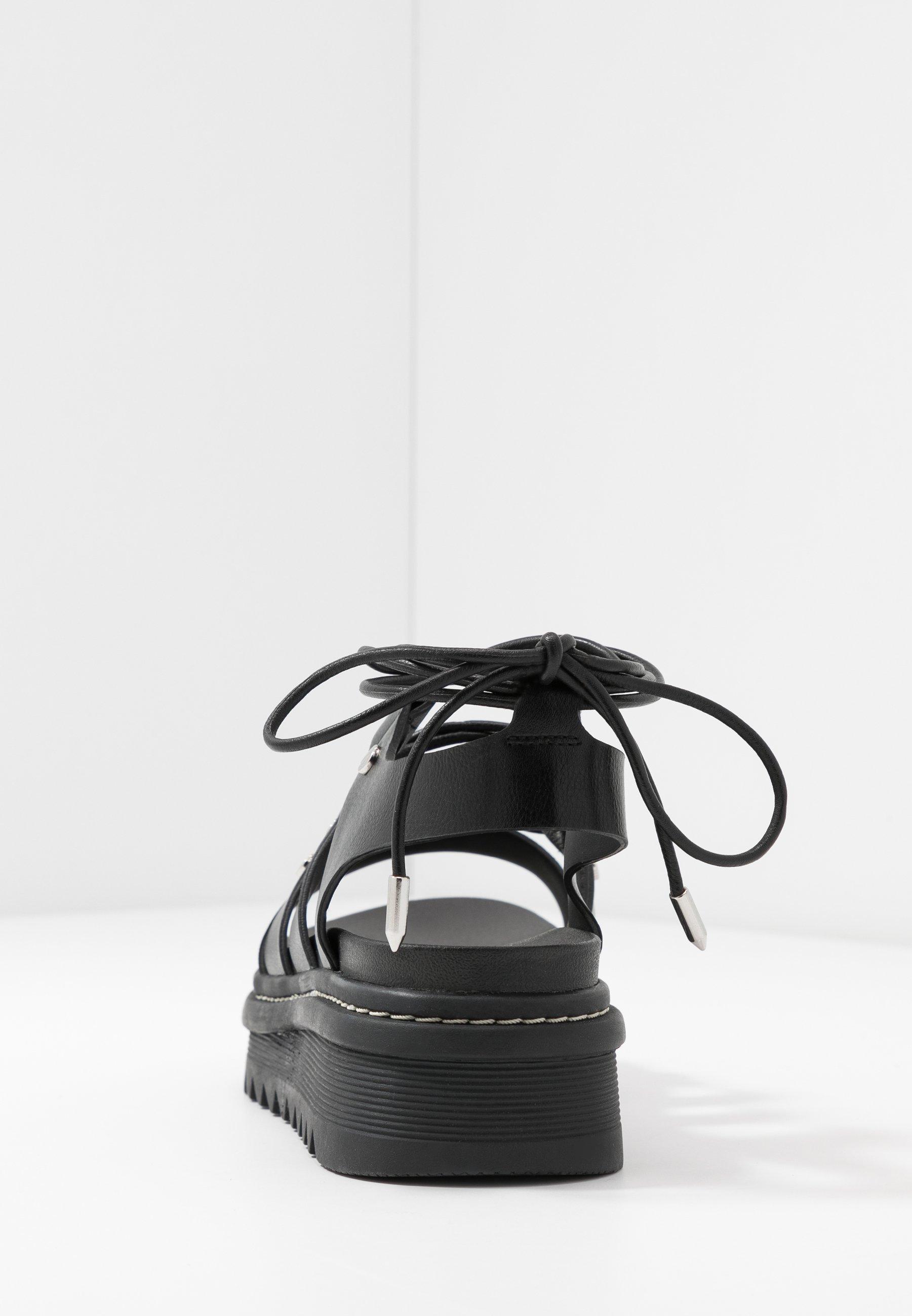 Aldo Dasdez - Platåsandaletter Black