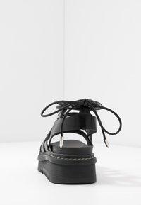 ALDO - DASDEZ - Platform sandals - black - 5