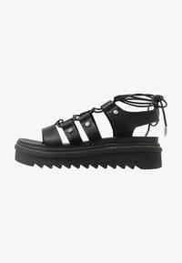 ALDO - DASDEZ - Platform sandals - black - 1