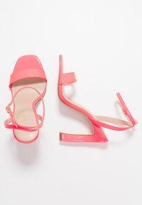ALDO - GORGEOUS - Sandalias de tacón - bright pink - 3