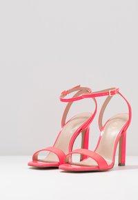 ALDO - GORGEOUS - Sandalias de tacón - bright pink - 4