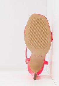 ALDO - GORGEOUS - Sandalias de tacón - bright pink - 6