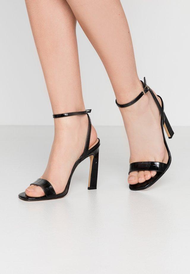 GORGEOUS - High heeled sandals - black