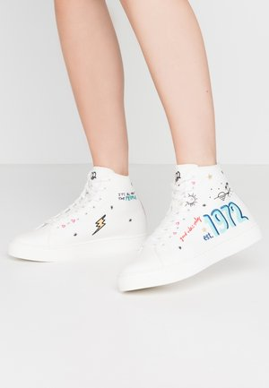LOVE1972 - High-top trainers - white
