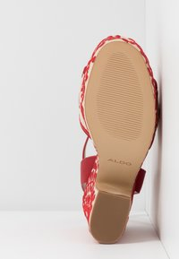 ALDO - QUINTINIA - High heeled sandals - red - 6