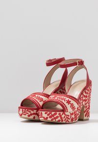 ALDO - QUINTINIA - High heeled sandals - red - 4
