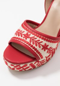 ALDO - QUINTINIA - High heeled sandals - red - 2
