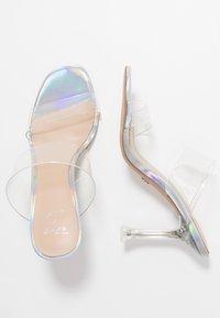 ALDO - ALDO x DISNEY - STEPSISTER - Pantofle na podpatku - clear - 3