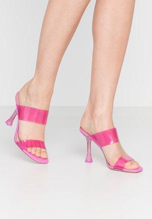 ALDO x DISNEY - STEPSISTER - Pantofle na podpatku - pink