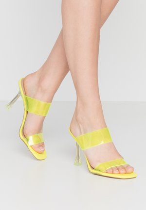 ALDO x DISNEY - STEPSISTER - Sandaler - bright green