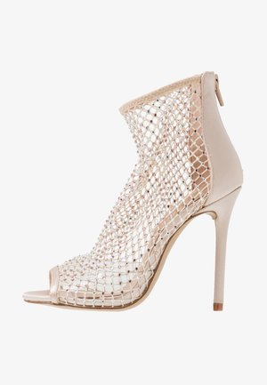 ADHALIA - High heeled ankle boots - light pink