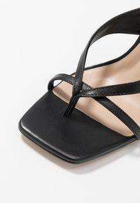 ALDO - LEXIE - Sandály na vysokém podpatku - black - 2