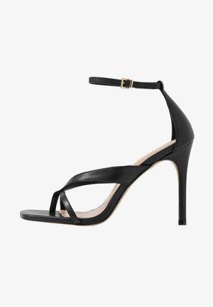 LEXIE - High heeled sandals - black