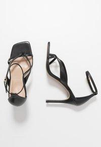 ALDO - LEXIE - Sandály na vysokém podpatku - black - 3