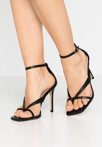 ALDO - LEXIE - Sandály na vysokém podpatku - black - 0