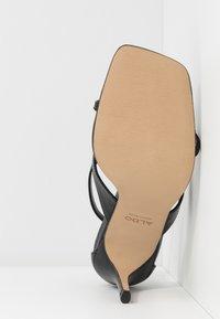 ALDO - LEXIE - Sandály na vysokém podpatku - black - 6