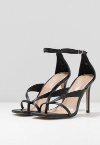 ALDO - LEXIE - Sandály na vysokém podpatku - black - 4