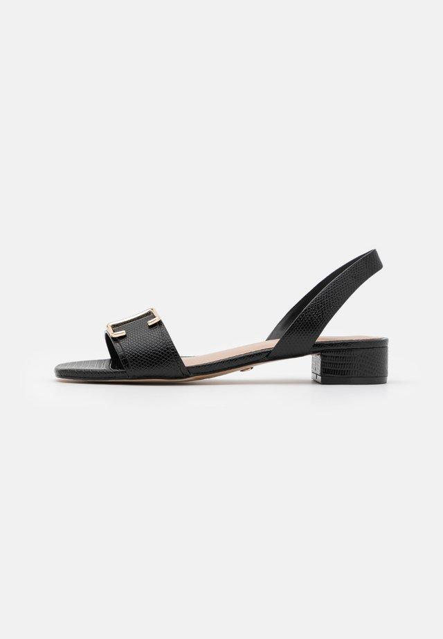 STASSI - Sandales - black
