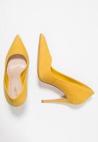 ALDO - CASSEDY - Escarpins à talons hauts - light yellow - 3