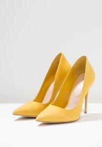 ALDO - CASSEDY - Escarpins à talons hauts - light yellow - 4