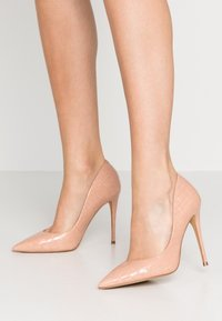 ALDO - STESSY - High Heel Pumps - light brown - 0