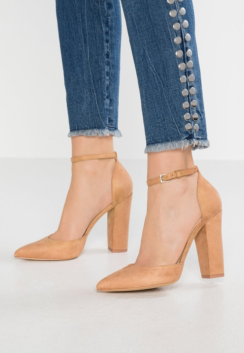 ALDO - NICHOLES - High Heel Pumps - camel