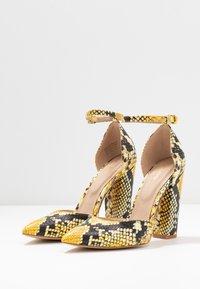 ALDO - NICHOLES - High heels - yellow - 4